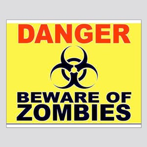 Beware of Zombies Posters