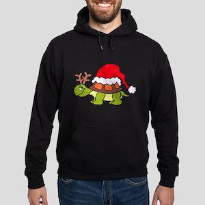 Turtle Christmas Hoodie (dark)