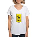 The Tarot Magus Women's V-Neck T-Shirt