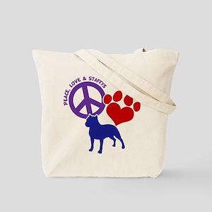 P, L, STAFFY (both sides) Tote Bag