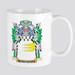 Henderson Coat of Arms (Family Crest) Mugs
