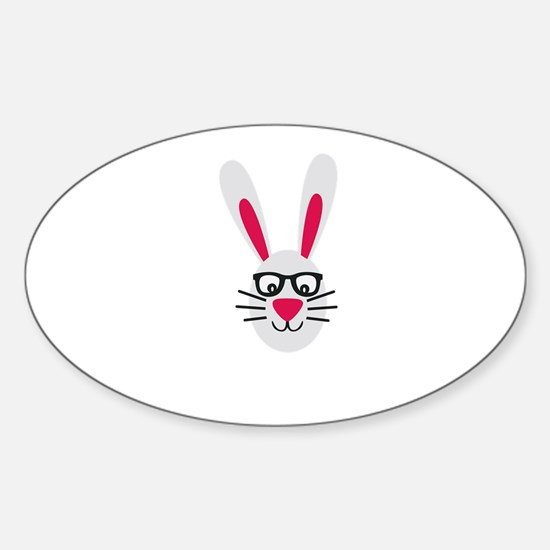 Nerd Rabbit Decal