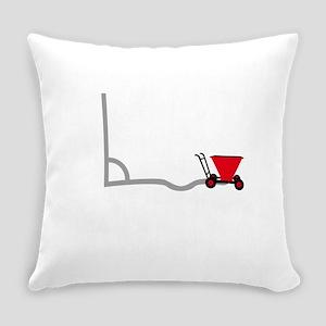 Chalk Cart Everyday Pillow