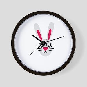 Nerd Rabbit Wall Clock