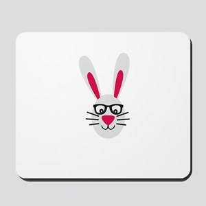 Nerd Rabbit Mousepad