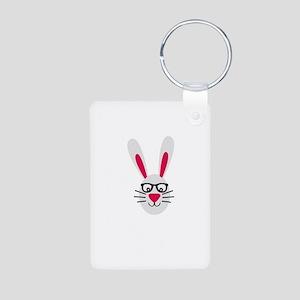 Nerd Rabbit Keychains