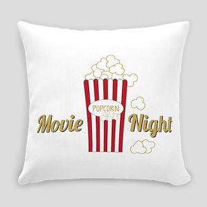 Movie Night Popcorn Everyday Pillow