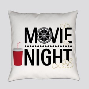 Movie Night Everyday Pillow