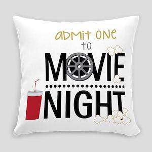 Admit one Movie Everyday Pillow