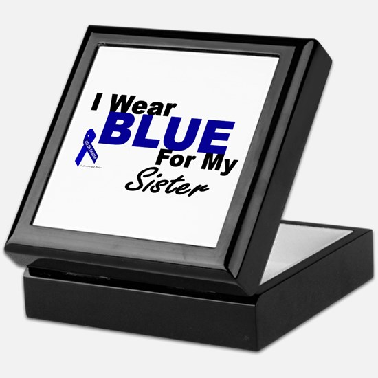 I Wear Blue 3 (Sister CC) Keepsake Box