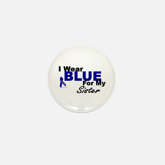 I Wear Blue 3 (Sister CC) Mini Button