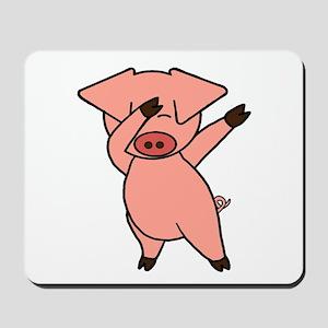 Dabbing Pig Mousepad