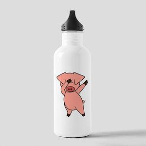 Dabbing Pig Water Bottle