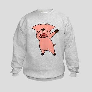 Dabbing Pig Sweatshirt