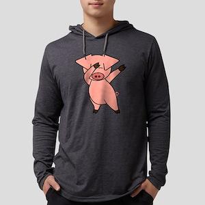 Dabbing Pig Long Sleeve T-Shirt