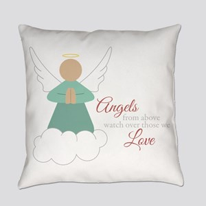Angels From Above Everyday Pillow
