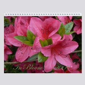 In Bloom Wall Calendar