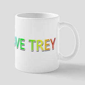 Peace Love Trey Mugs