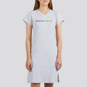 Peace Love Tommy Women's Nightshirt