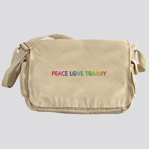 Peace Love Tommy Messenger Bag