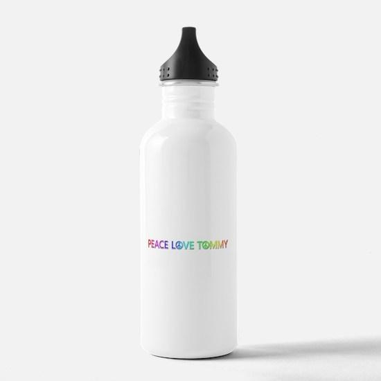 Peace Love Tommy Water Bottle
