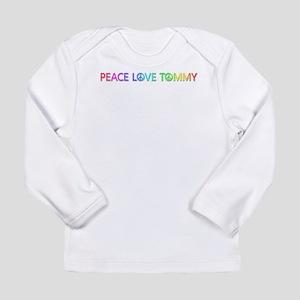 Peace Love Tommy Long Sleeve T-Shirt