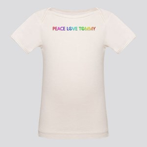 Peace Love Tommy T-Shirt