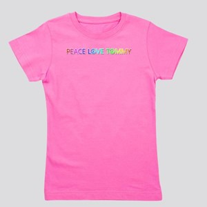 Peace Love Tommy Girl's Tee