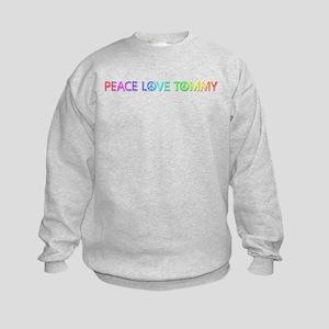 Peace Love Tommy Sweatshirt