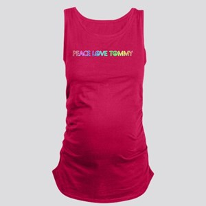 Peace Love Tommy Maternity Tank Top