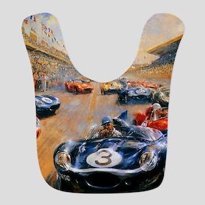 Vintage Car Race Painting Bib