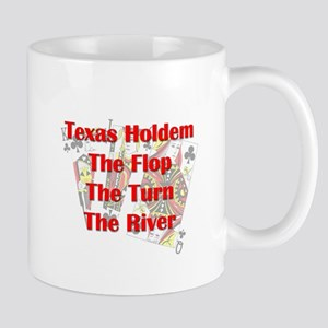 TH:Flop, Turn, River Mug