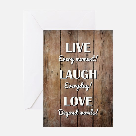 LIVE... Greeting Cards