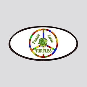 Peace Love Turtles Patch