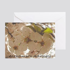 Alzheimer's Advocate Greeting Card