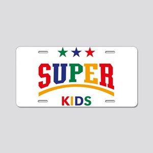 Super Kids Aluminum License Plate