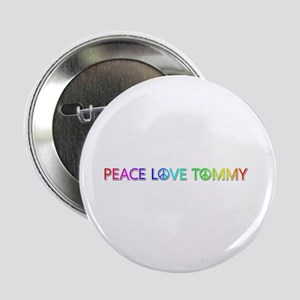 Peace Love Tommy Button