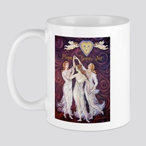 3 Graces with Smiling faces Mug