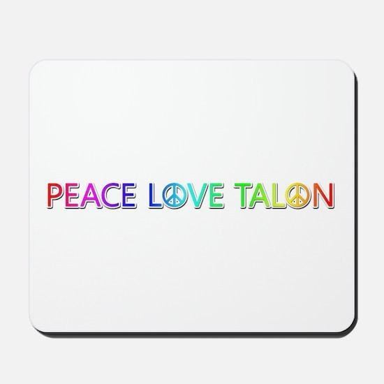 Peace Love Talon Mousepad