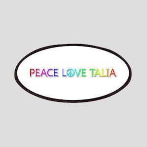 Peace Love Talia Patch
