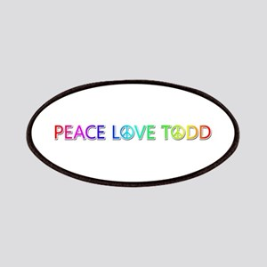 Peace Love Todd Patch
