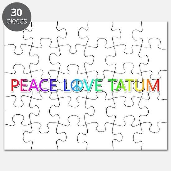 Peace Love Tatum Puzzle