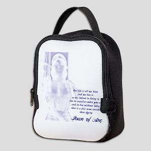 Joan of Arc - One Life Neoprene Lunch Bag