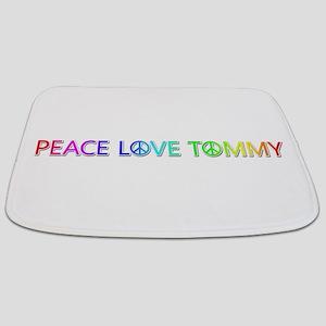 Peace Love Tommy Bathmat