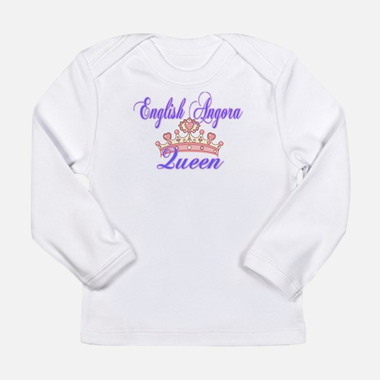 Enlgish Angora Queen Long Sleeve T-Shirt