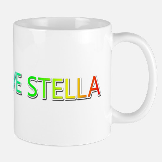 Peace Love Stella Mugs