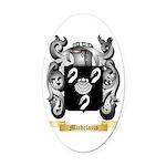 Michelazzo Oval Car Magnet