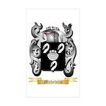 Michelazzo Sticker (Rectangle 10 pk)