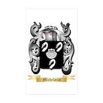 Michelazzo Sticker (Rectangle 50 pk)
