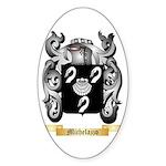 Michelazzo Sticker (Oval)